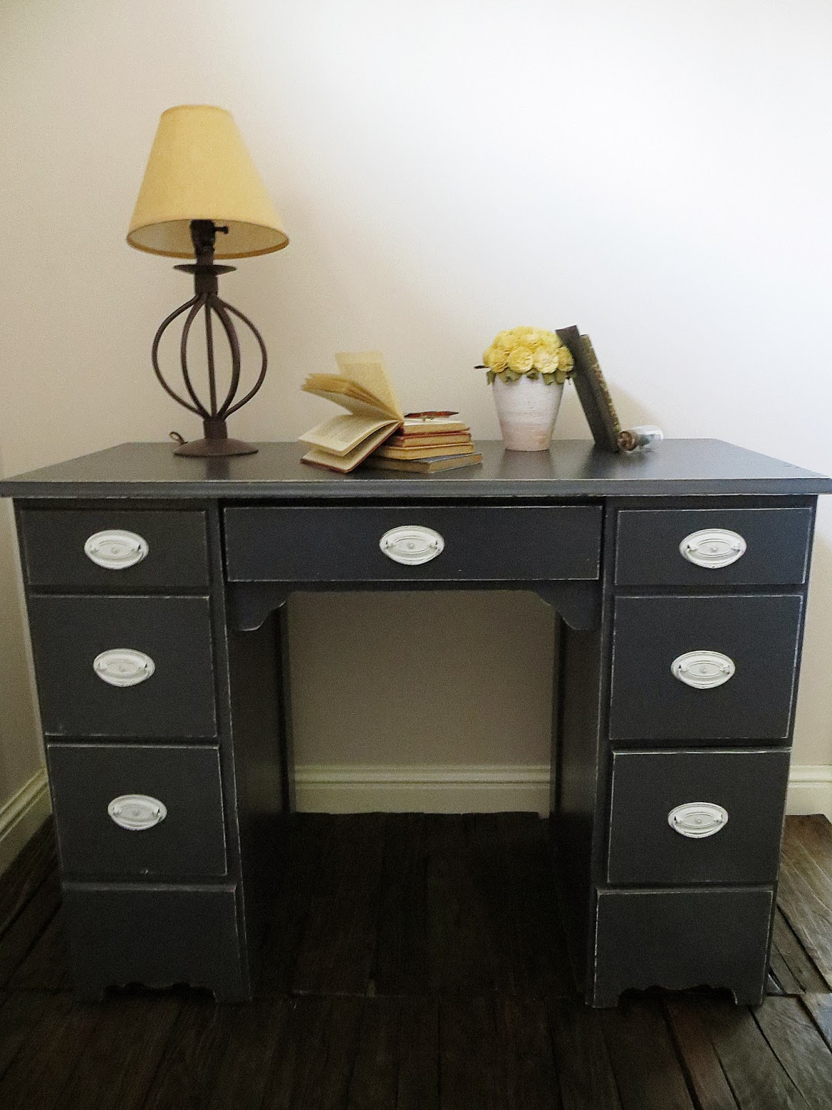 Namely Original Shabby Chic Desk Makeover