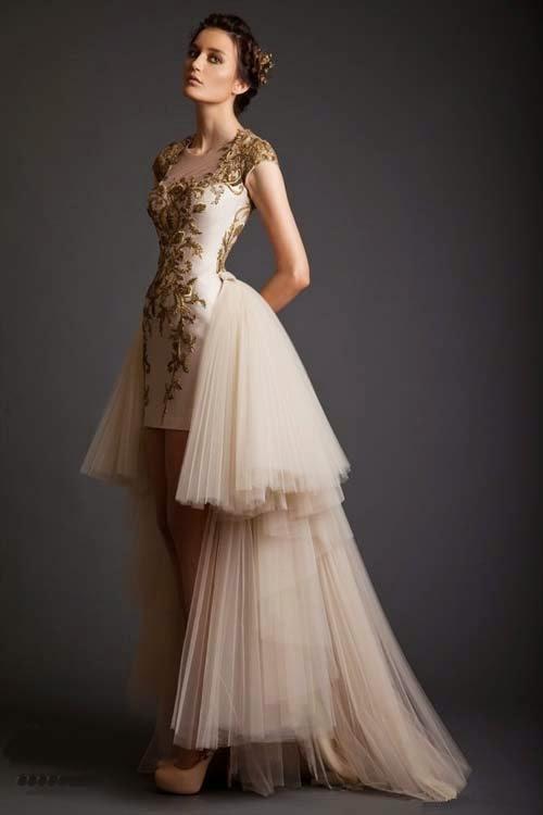 2014 Spring wedding dresses by Krikor Jabotian