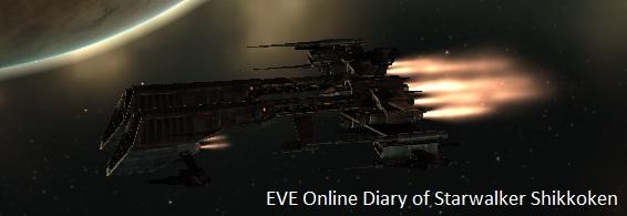EVE Online Diary of Starwalker Shikkoken