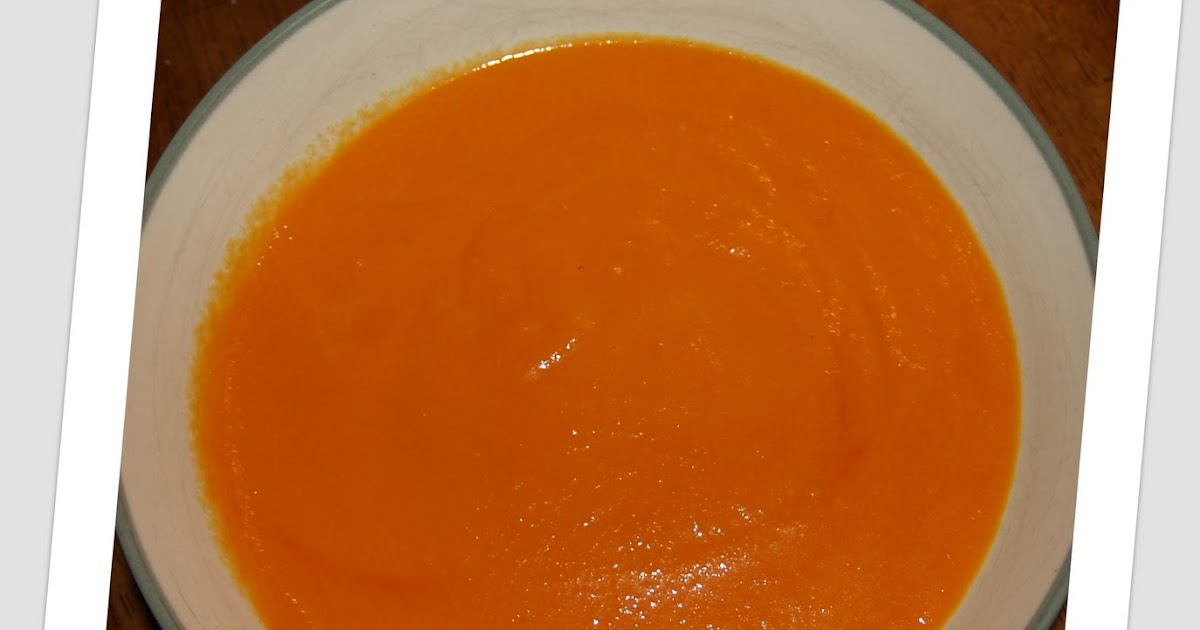 Reviewed By Mom: Cheap Eats....Creamy Carrot Soup
