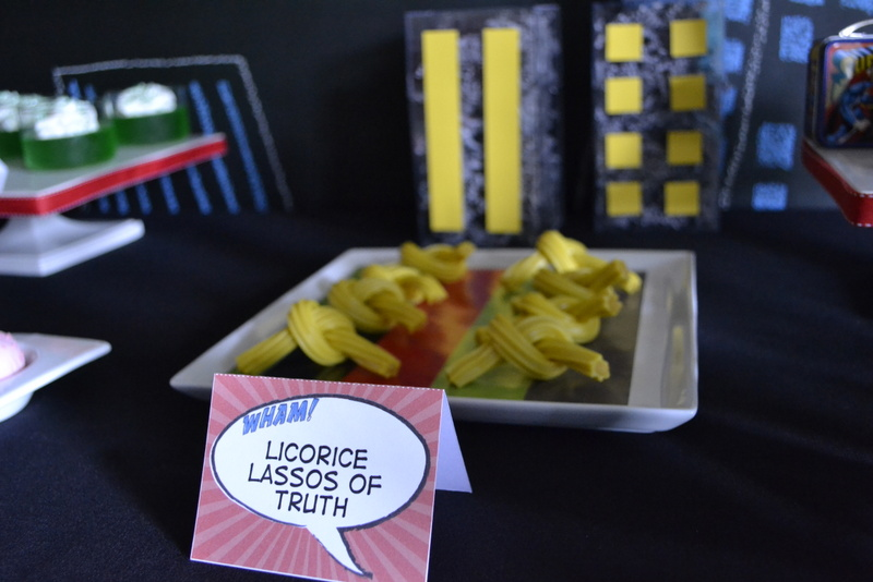 Super Dad Father's Day Luncheon licorice lasso of truth