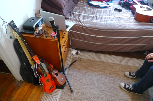 Ten Guitars Seven Hats Keyboards And Gear In 400 Sq Ft