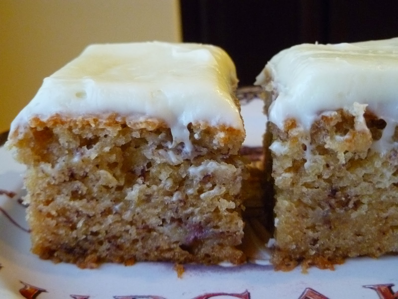 Banana Sheet Cake Recipe With Cream Cheese Frosting