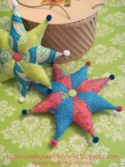MY PINCUSHION DESIGN ON THE MODA BAKE SHOP BLOG