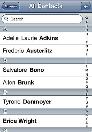 import contacts to iphone