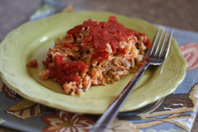 Layered Cabbage Rolls recipe by Barefeet In The Kitchen