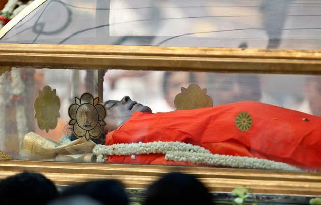 Sathya Sai Baba's mortal remains will be kept inside a Maha Samadhi ...