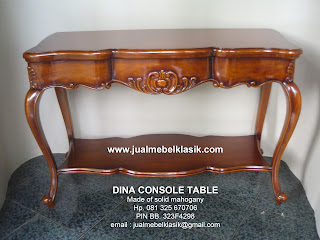 supplier classic furniture mahogany solid console table carved supplier indonesia classic furniture