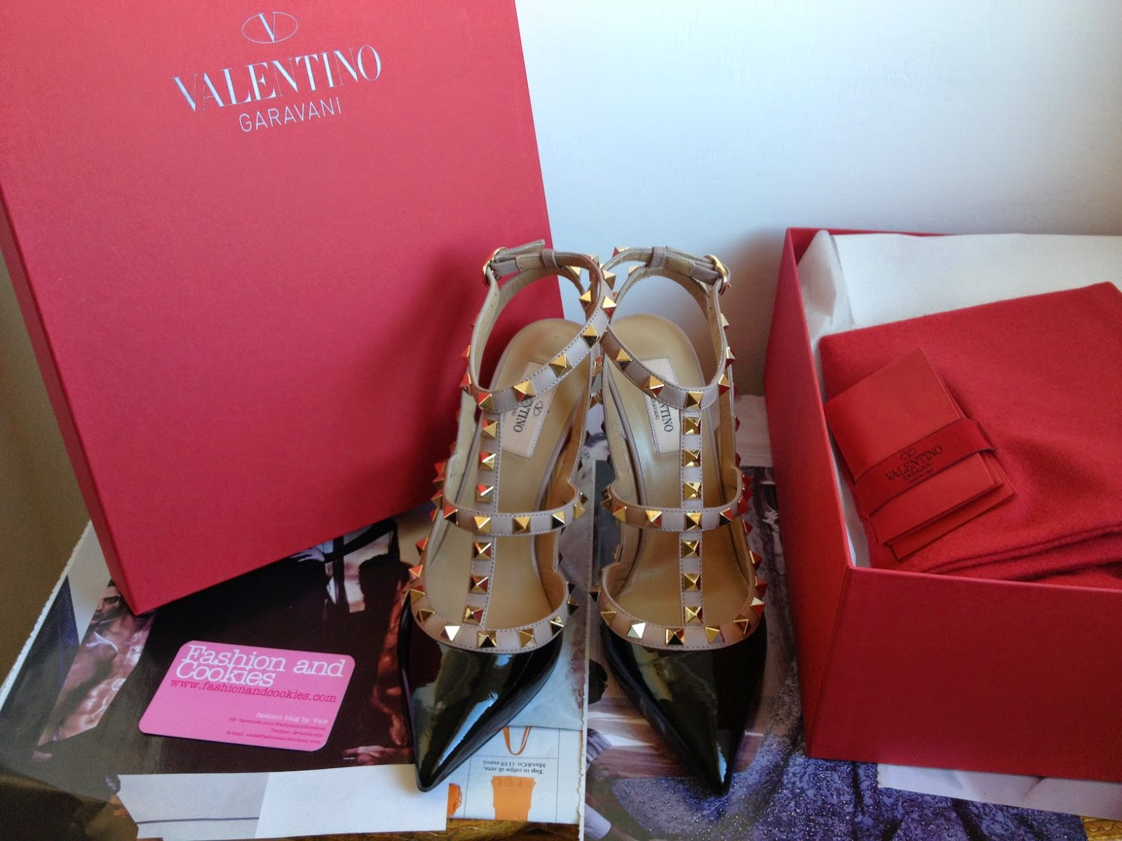 Valentino Rockstud pumps, Valentino rockstud sale, Valentino Rockstud review, Valentino Rockstud patent leather, Fashion and Cookies fashion blog, fashion blogger