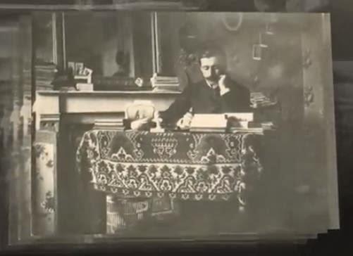 Jovan Dučić kao student u Ženevi 1901.