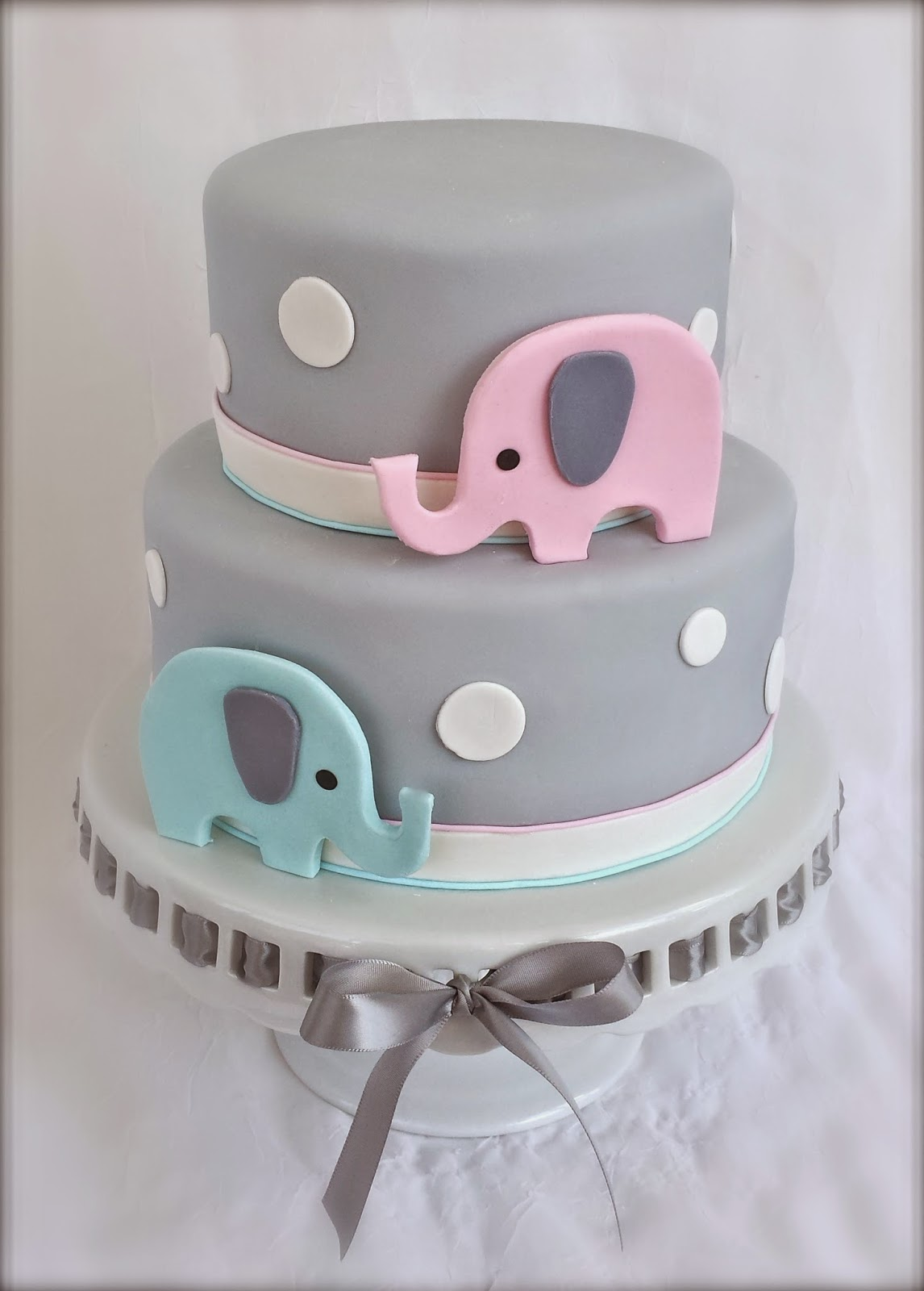 Elephant Baby Cake Pinterest