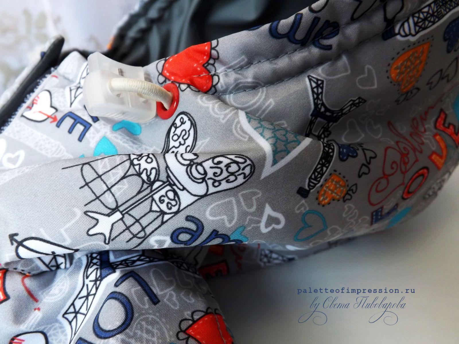 Детская весенняя курточка. Выкройка модель 12 Ottobre 1/2013.