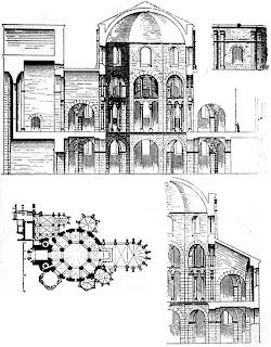 Capilla Palatina de Aquisgran. Alemania. Iglesias por el mundo. Iglesias del Mundo. Basilica Cristiana.