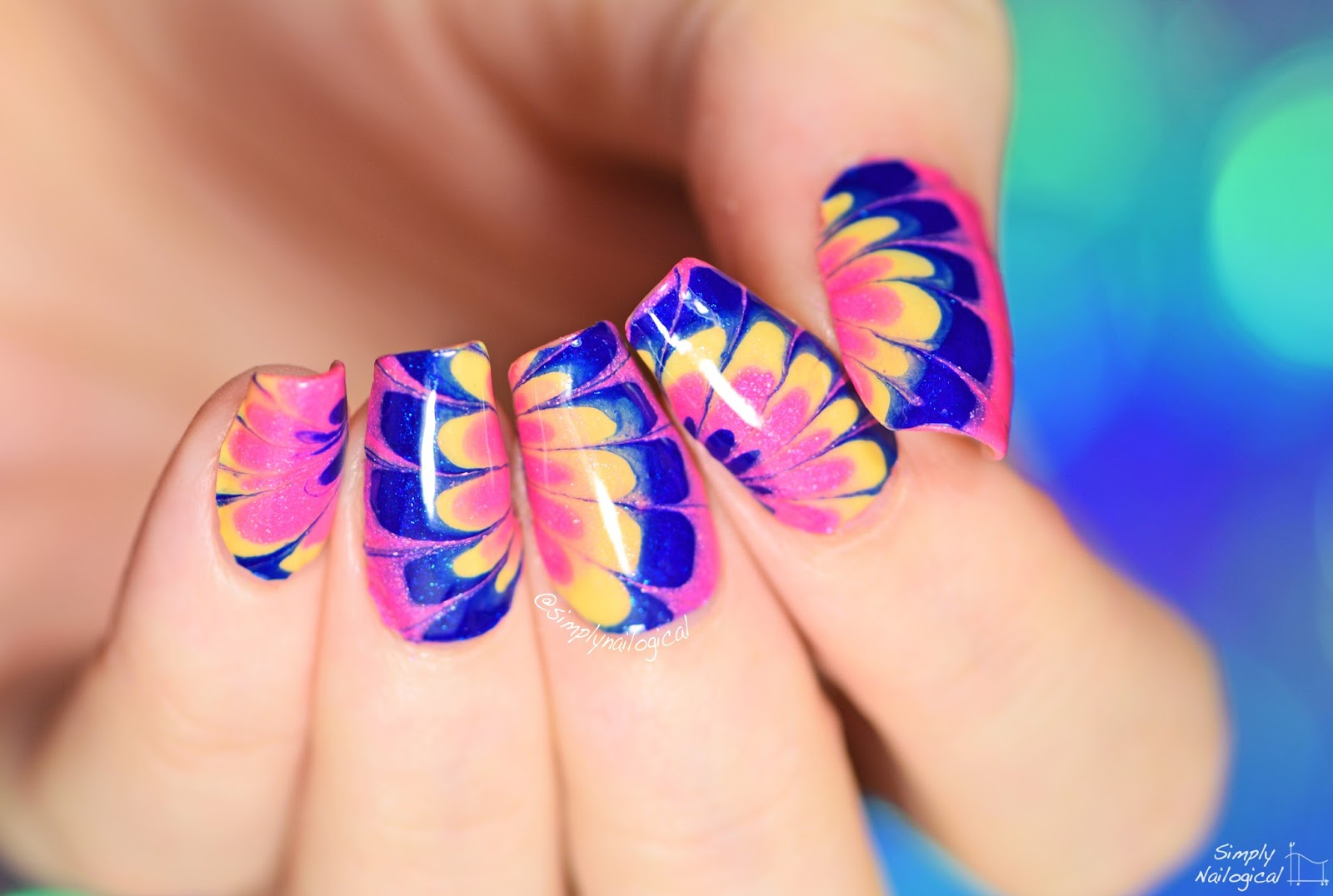Simply Nailogical: How to CHEAT at Watermarble Part 2