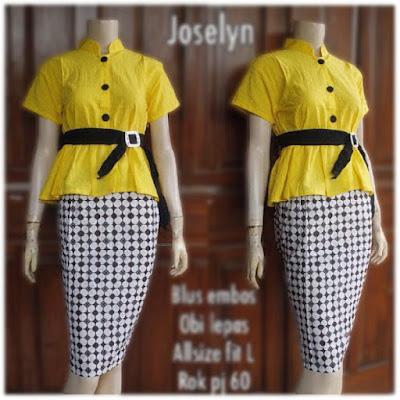 Kebaya Batik Modern Joselyn KBW 288