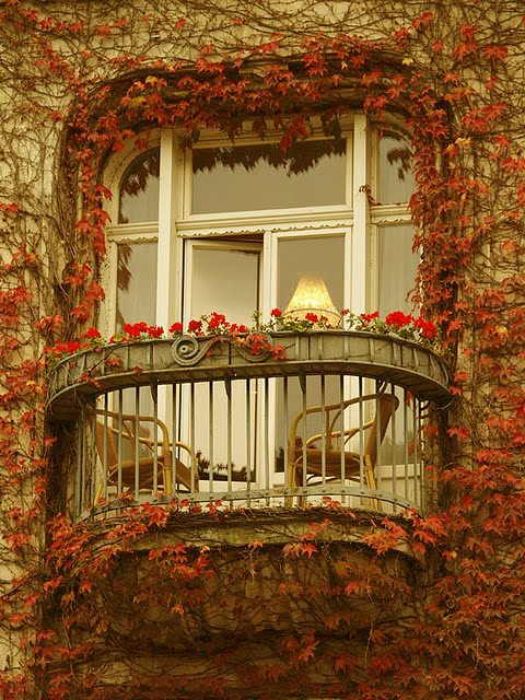 Tiny paris balcony content in a cottage - Houses with covered balconies ...