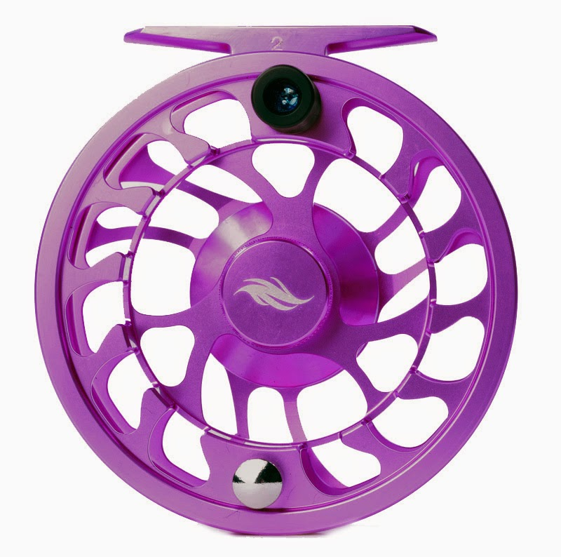 Tight lined tales of a fly fisherman fly product for Purple fishing reel