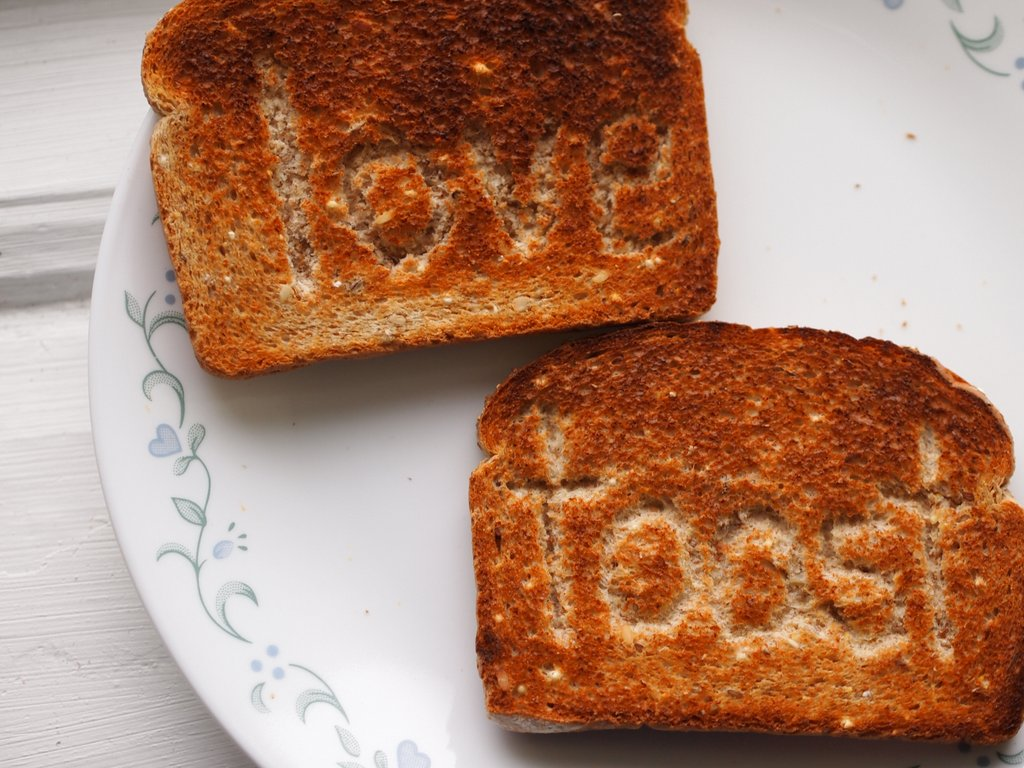 Make You Own Toast Stampers Three Ways To Write On Toast