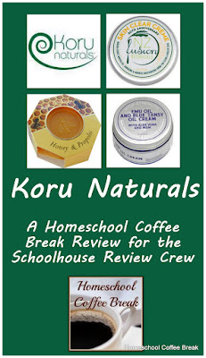Koru Naturals - A Homeschool Coffee Break Review for the Schoolhouse Review Crew @ kympossibleblog.blogspot.com