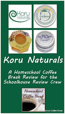 Koru Naturals - A Homeschool Coffee Break Review for the Schoolhouse Review Crew @ kympossibleblog.blogspot.com