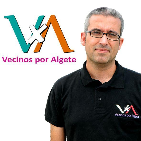 Sergio Velasco, Secretario General de Vecinos por Algete