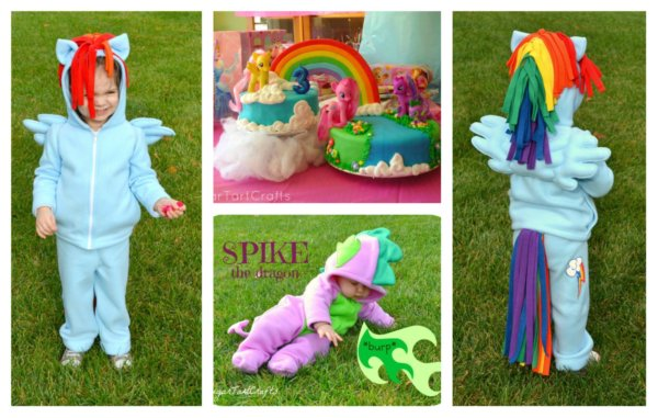 My Little Pony projects collage