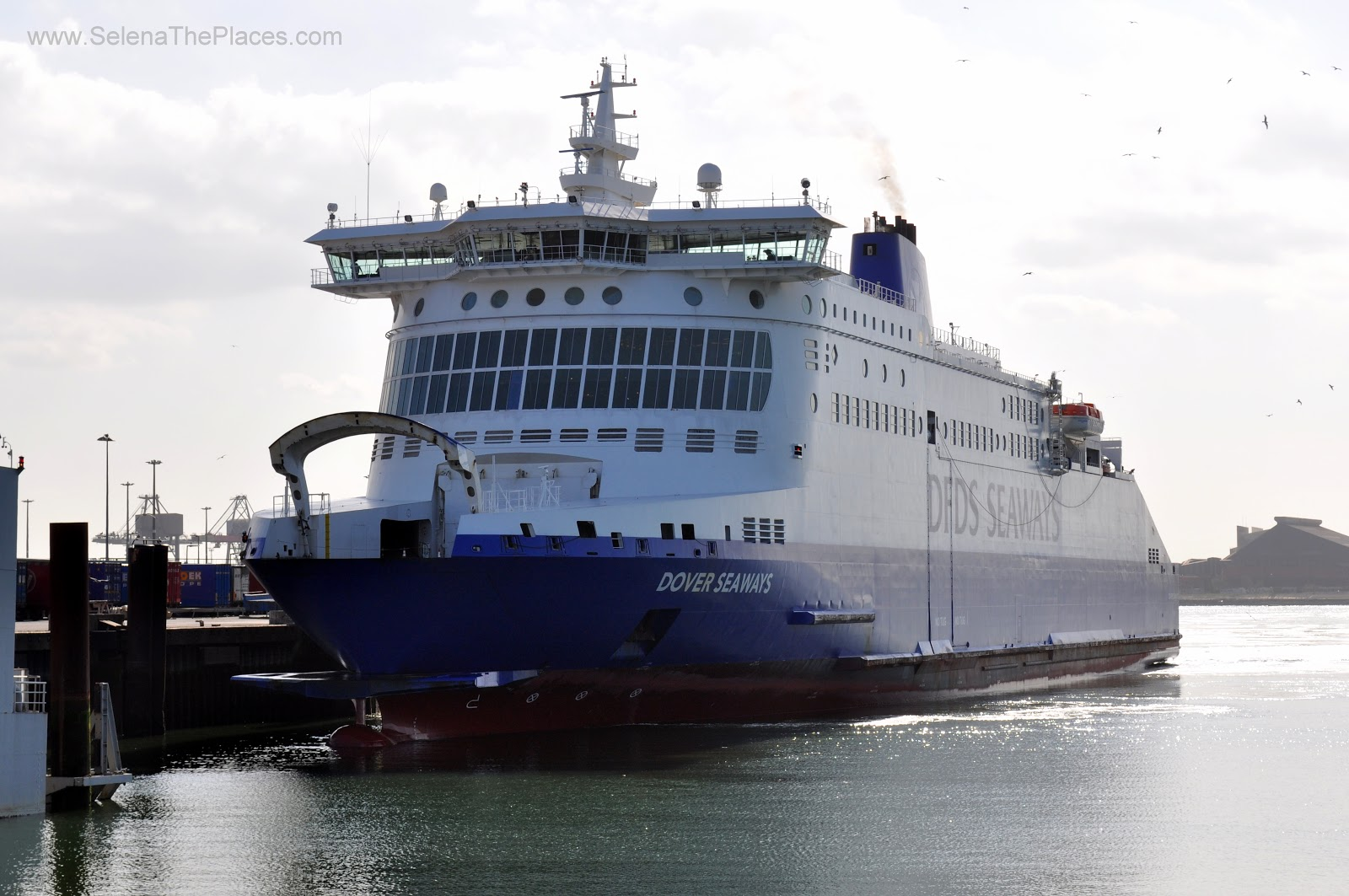 Dover Dunkirk DFDS Ferries