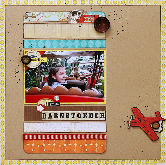 Barnstormer_Magic Kingdom_Goofy_Scrapbook_Disney World