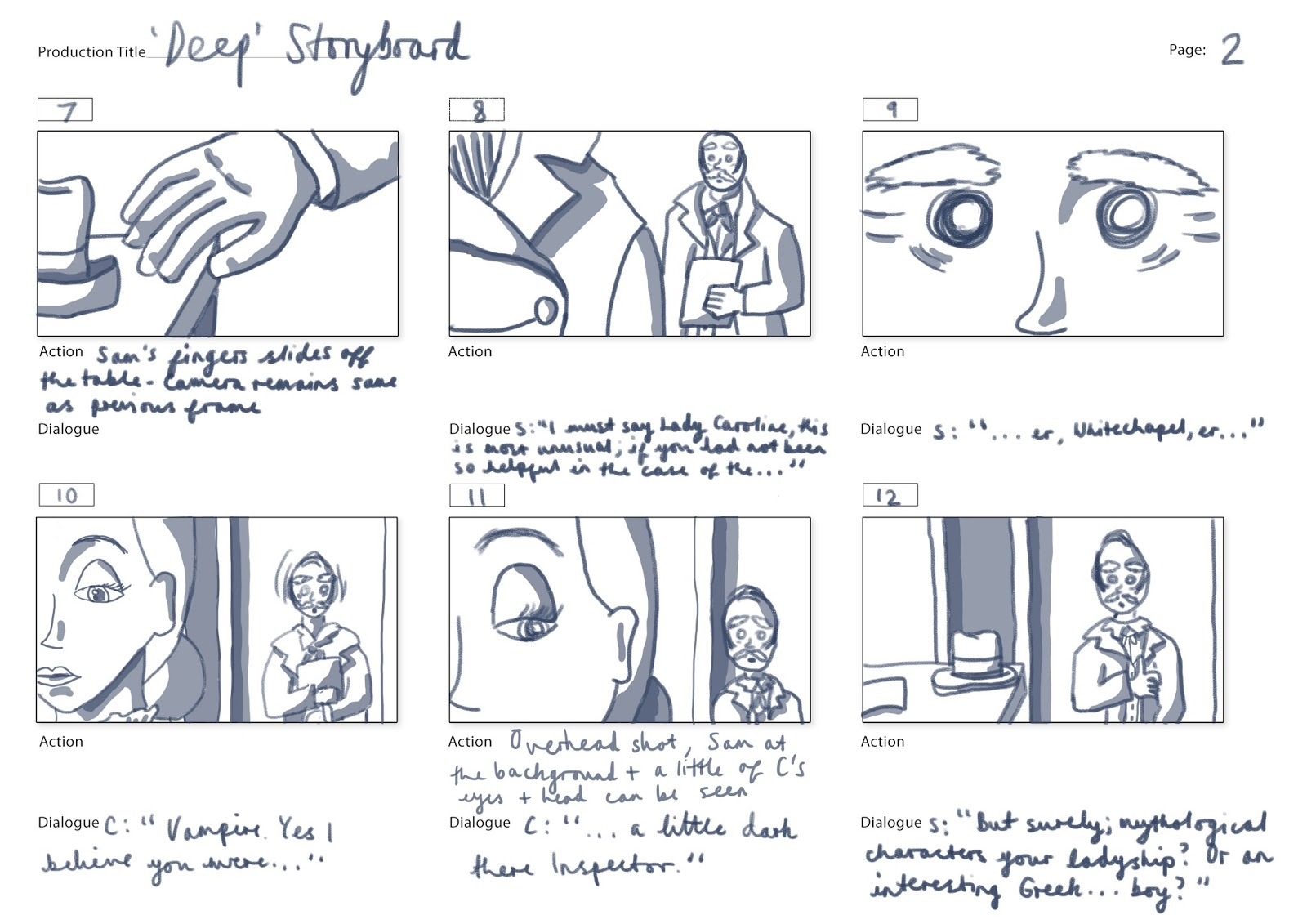 how to create a simple storyboard