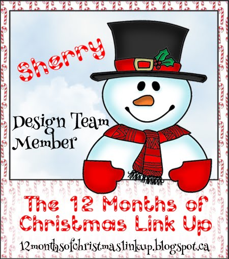 THE 12 MONTHS OF CHRISTMAS LINK UP DT