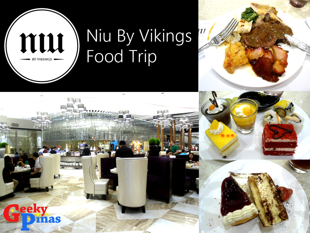 Niu by Vikings Food Trip: An Upscale Buffet Restaurant At SM Aura Premier