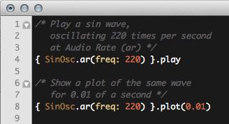 A quick bit of code