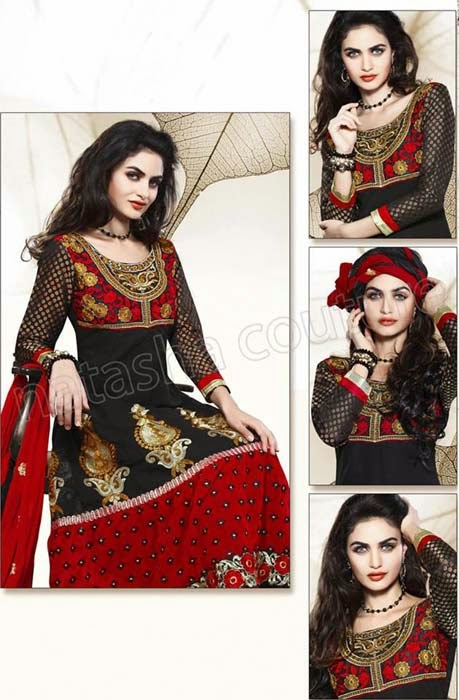 Natasha Couture New Shalwar Kameez Dresses Collection 2014 For PAKISTANI Girls