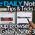 Galaxy Note 3 Tips & Tricks Episode 21: Popup Browser for Galaxy Note 3
