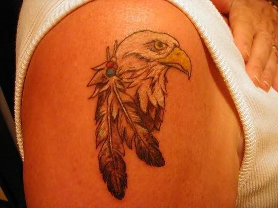 Eagle tattoos for Small eagle tattoo