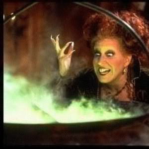 better midler in a witch movie