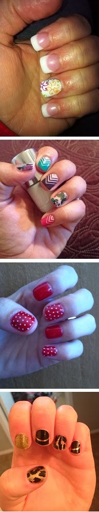 Image: Jamberry Nails over Gel Nails