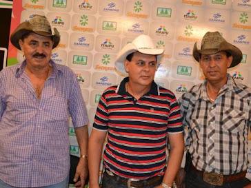 Trio matéria Jornal folha do lago