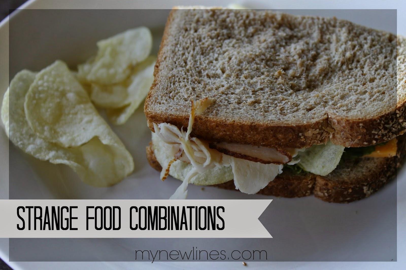 strange food combinations