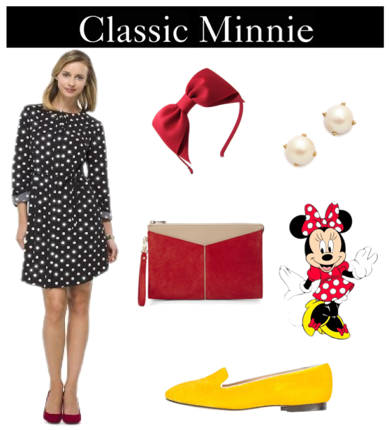 Adult minnie themed outfit