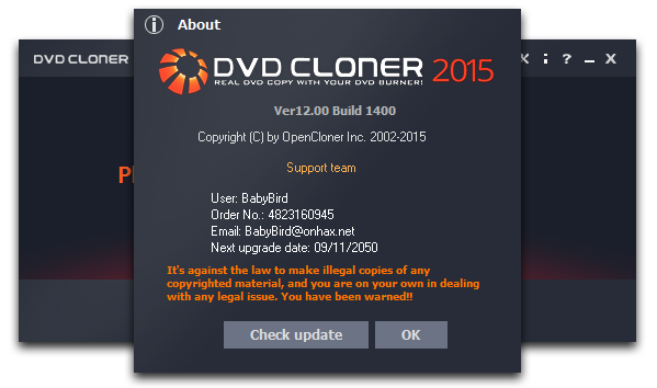 DVD-Cloner 2015 Full Keygen