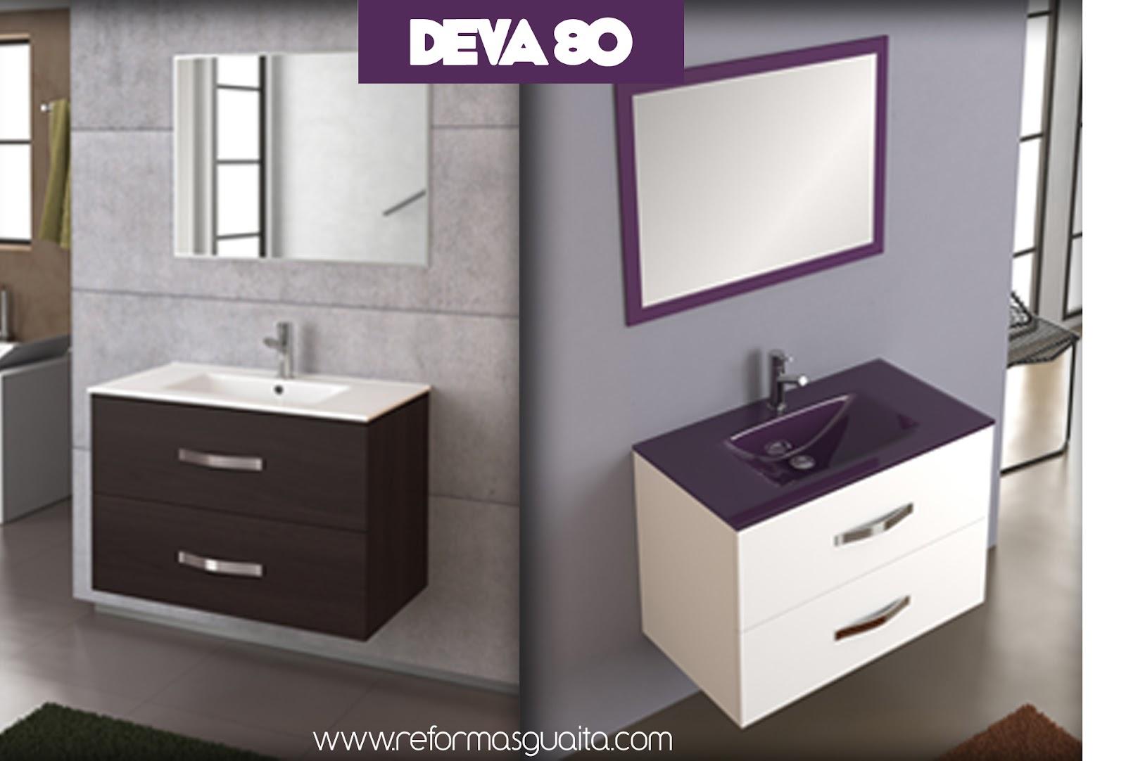 Mueble DEVA 70 o 80, la mejor opción para el baño ~ Reformas Guaita