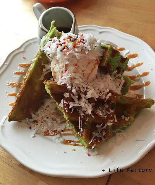 Waffle, Go Getter Cafe, Bukit Jalil, Food in KL