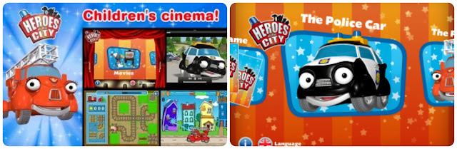 Heroes of the City Book and Movies App for Android and Apple