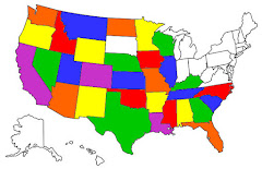 States We've Stayed in as RVers since 2010