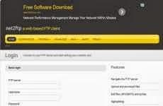Cliente FTP basado en la web: Net2FTP
