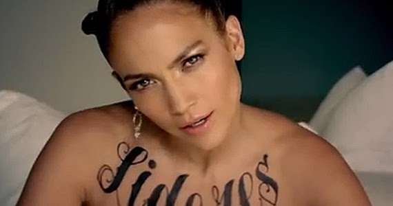 Chatter busy jennifer lopez tattoos - Tatouage femme poitrine ...