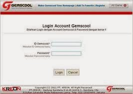 Login Gemscool
