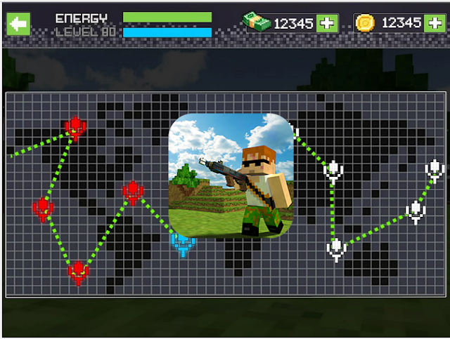 Pixel Shoot War v1.2 Apk Mod [Dinero]