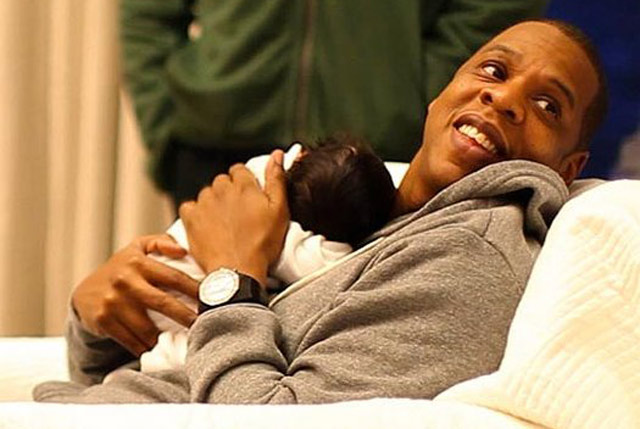 Jay Z and Beyonce Baby